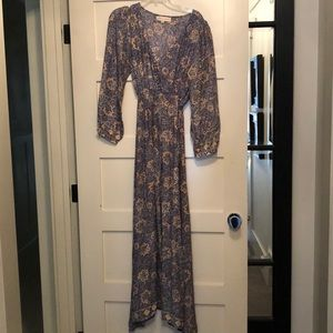 Natalie Martin 100% silk maxi dress